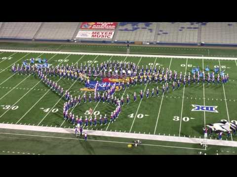 Star Trek performed by KU marching band at Heart of America 2016
