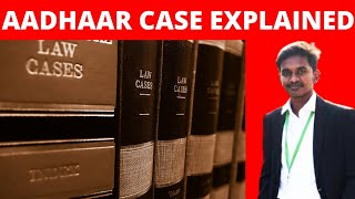 K.S. Puttaswamy vs. Union of India   Right to privacy   LANDMARK JUDGMENT   Aadhaar case   Tamil