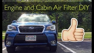 homepage tile video photo for 2017 Forester XT Engine Air Filter and Cabin Air Filter Change (30k Mile Service)