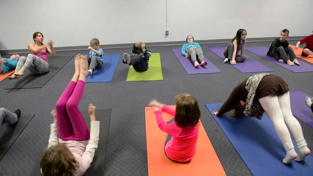 Handstand Chair Design Competition A Visit To Ymca Kids Yoga Class - Youtube