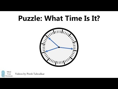 What Time Is It? Puzzle From Russia