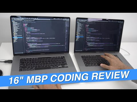 "16"" MacBook Pro Coding Review 