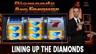 💎 DIAMOND 007 Progressive JACKPOT!  🤩 + Fun TARZAN Action