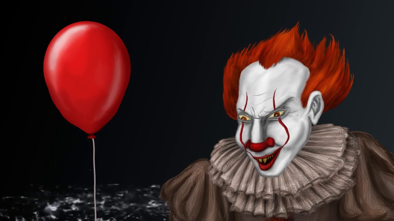 Pennywise The Dancing Clown It Animated Painting Youtube