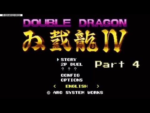 Double Dragon IV - Billy's bad luck |