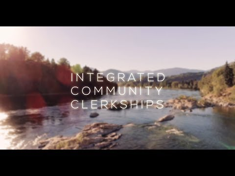 Integrated Community Clerkships - UBC Faculty of Medicine