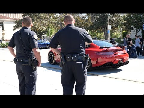 Cops Really Do Hate LA Supercar Meets