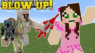 Minecraft: BLAST OFF!!! (BLOW EVERYONE UP!!) Mini-Game