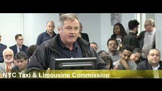ANGRY TAXI MEDALLION OWNER PUTS NYC TLC IN THEIR PLACE!