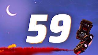 ROCKET LEAGUE INSANITY 59 ! (BEST GOALS, CAR BUMP FREESTYLES, NO CAM GOALS)