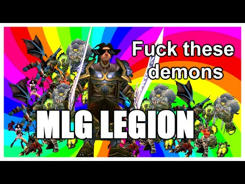 World of Warcraft Legion MLG: The Clash of Memes