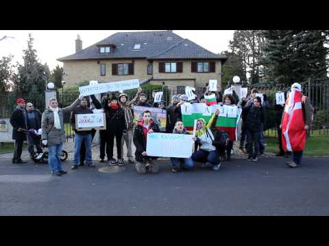 No shale gas in Bulgaria, protest in Denmark