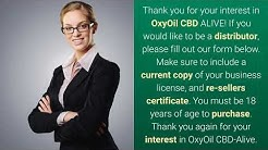 OXYOIL CBD ALIVE CONTACT US FOR WHOLESALE