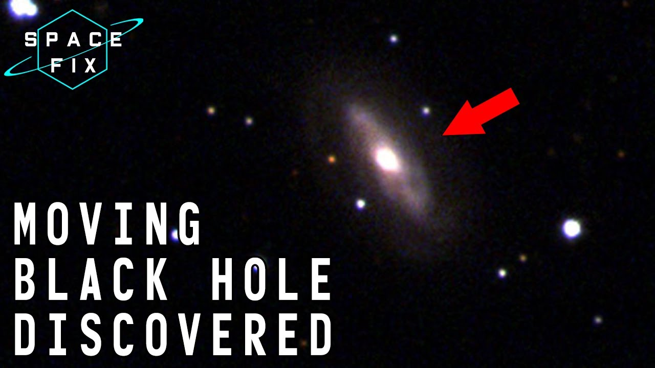 """Extremely Rare """"Wandering"""" Supermassive Black Hole Discovered Racing Through Space! (SpaceFix) 4K"""