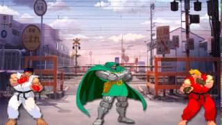 Street Fighter - Ryu and Ken vs Dr.Doom
