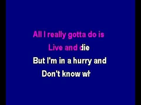 Alabama - I'm in a Hurry Karaoke (Slow Version)