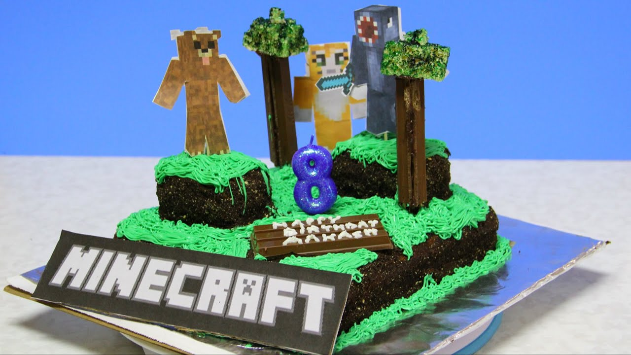 minecraft cake recipe. Contemporary Cake How To Make Minecraft World Cake Video Recipe By Bhavna Intended R