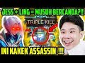 JESS PAKE LING TERLALU SAKTI, MUSUH SAMPE TOXIC PARAH!! - Mobile Legends