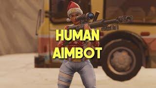 Fortnite Montage - Human Aimbot