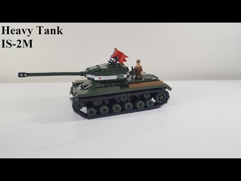 Cobi small army ww2 (2491) Heavy tank IS-2M Quick built + Review