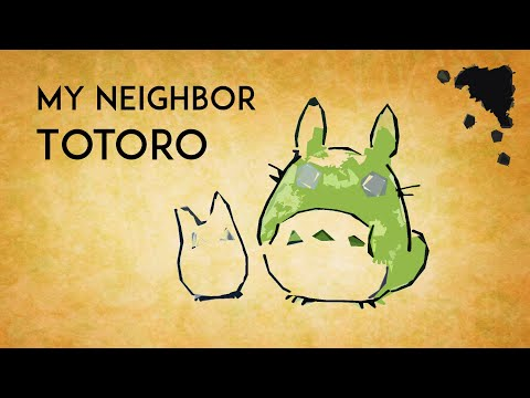 My Neighbor Totoro OST - Beautiful Relaxing Harp Covers 【◈ Studio Ghibli Music Collection ◈】 となりのトトロ