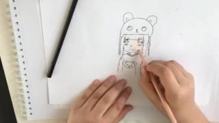 Anime Teddy Girl - By S