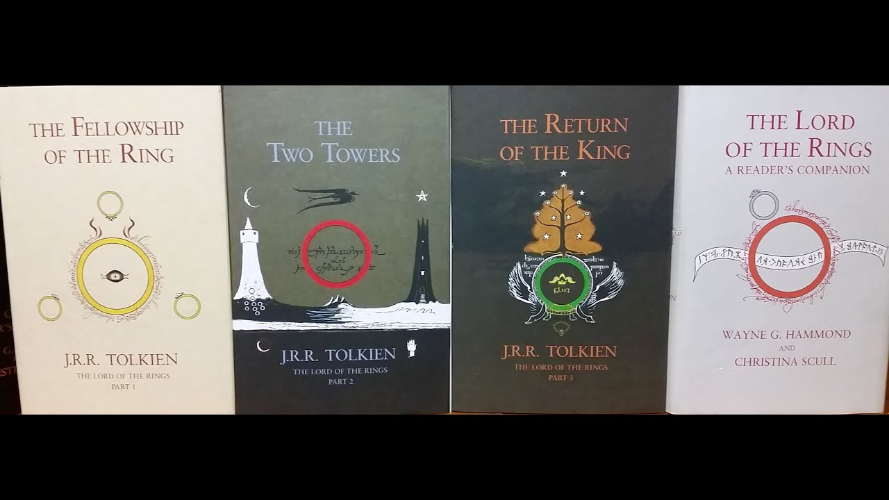 The Lord Of The Rings Three Book Set