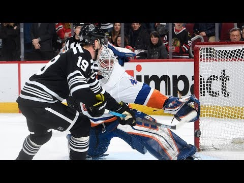 Blackhawks, Islanders take it to a shootout
