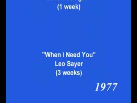 Number One Hits: 1976 - 1977 (UK)
