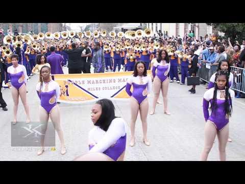 Southern University Vs Miles College @ Bacchus 2018 #BLOODYSUNDAY
