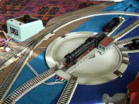 Maerklin Turntable 7186 Automatically Moved Forward