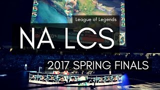 exp   day at the na lcs spring finals 2017