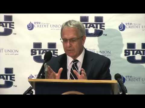 Utah State accepts invitation to join Mountain West Conference (Press Conference)