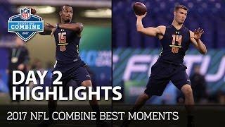 NFL 2017 Combine Day 2 Highlights | NFL