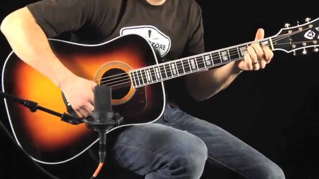 Guild D-55: Tone Review and Demo with Dave Waters