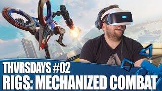 RIGS Mechanized Combat - New PSVR Gameplay | THVRSDAYS Episode 02