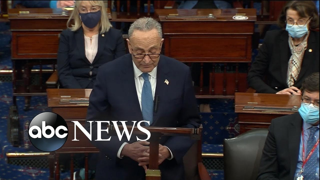 Download Chuck Schumer delivers remarks on Capitol breach