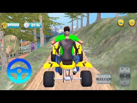ATV Top Mountain Bike Taxi Racing Game   Atv Bike Games   Bike 3D Games   Games For Kids