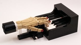 Video The Pianist - LEGO Piano Player Kinetic Sculpture download MP3, 3GP, MP4, WEBM, AVI, FLV Oktober 2017