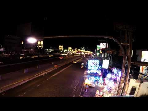Ventura Highway BY America. City of San Fernando, Pampanga timelapse