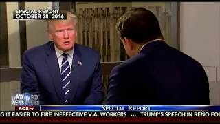 President Trump invited for interview on Special Report