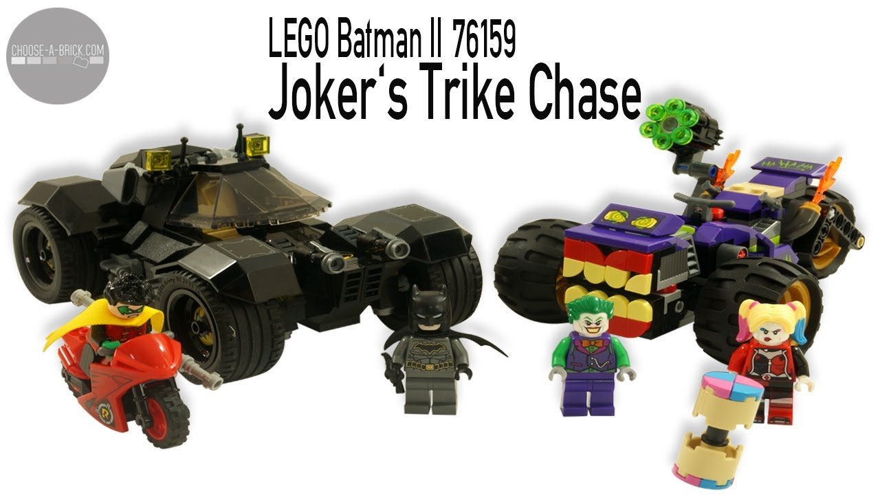 LEGO 76159 Joker's Trike Chase - DC Comics Batman Speed ...