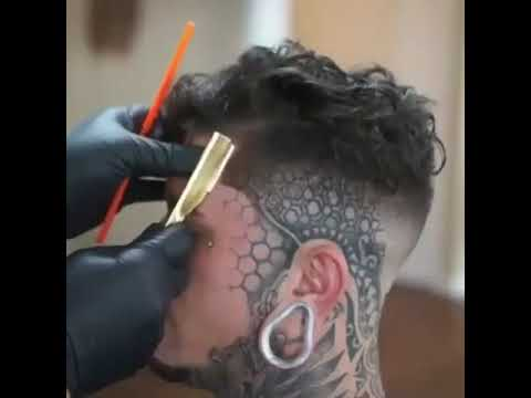 Best Hair Style For 2018 Man Undercut Hairstyles With Hair Tattoos