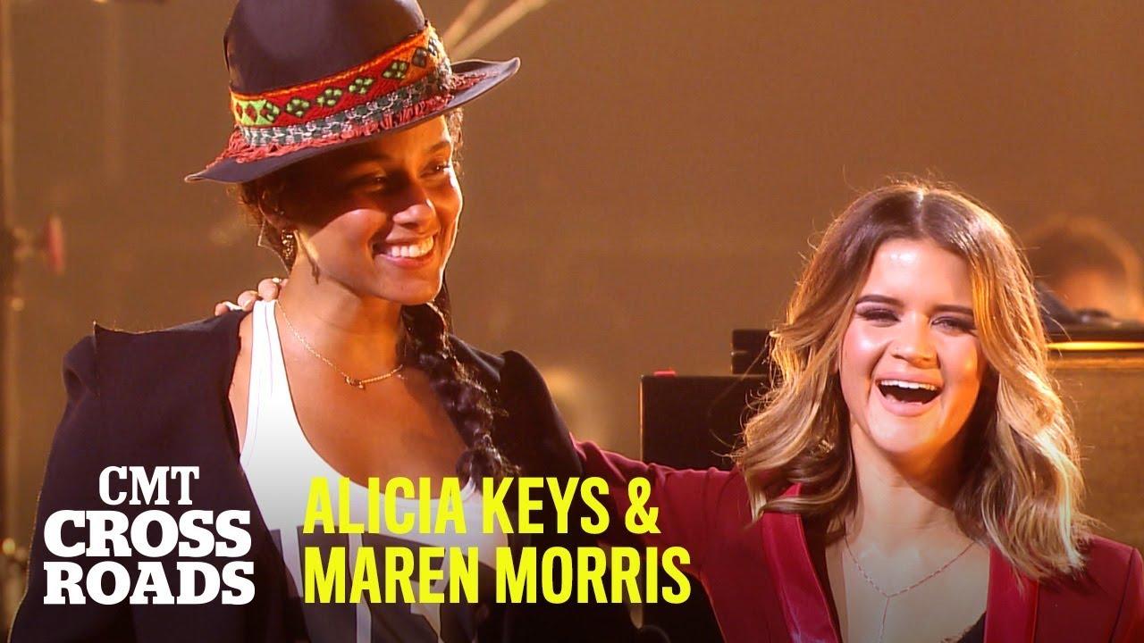 Alicia Keys & Maren Morris - No One | CMT Crossroads