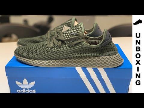 c1cda8837379d adidas Deerupt Runner Base Green   Base Green   Orange - YouTube