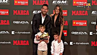 Lionel Messi Receives The 6th …