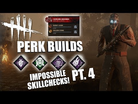 IMPOSSIBLE SKILLCHECKS! PT. 4 | Dead By Daylight THE DOCTOR PERK BUILDS