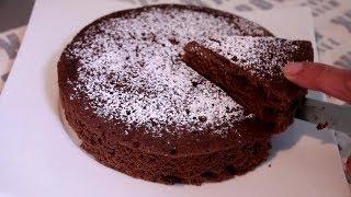 No Egg Microwave Choco Chip Cake (No Talk Nok BGM 82)