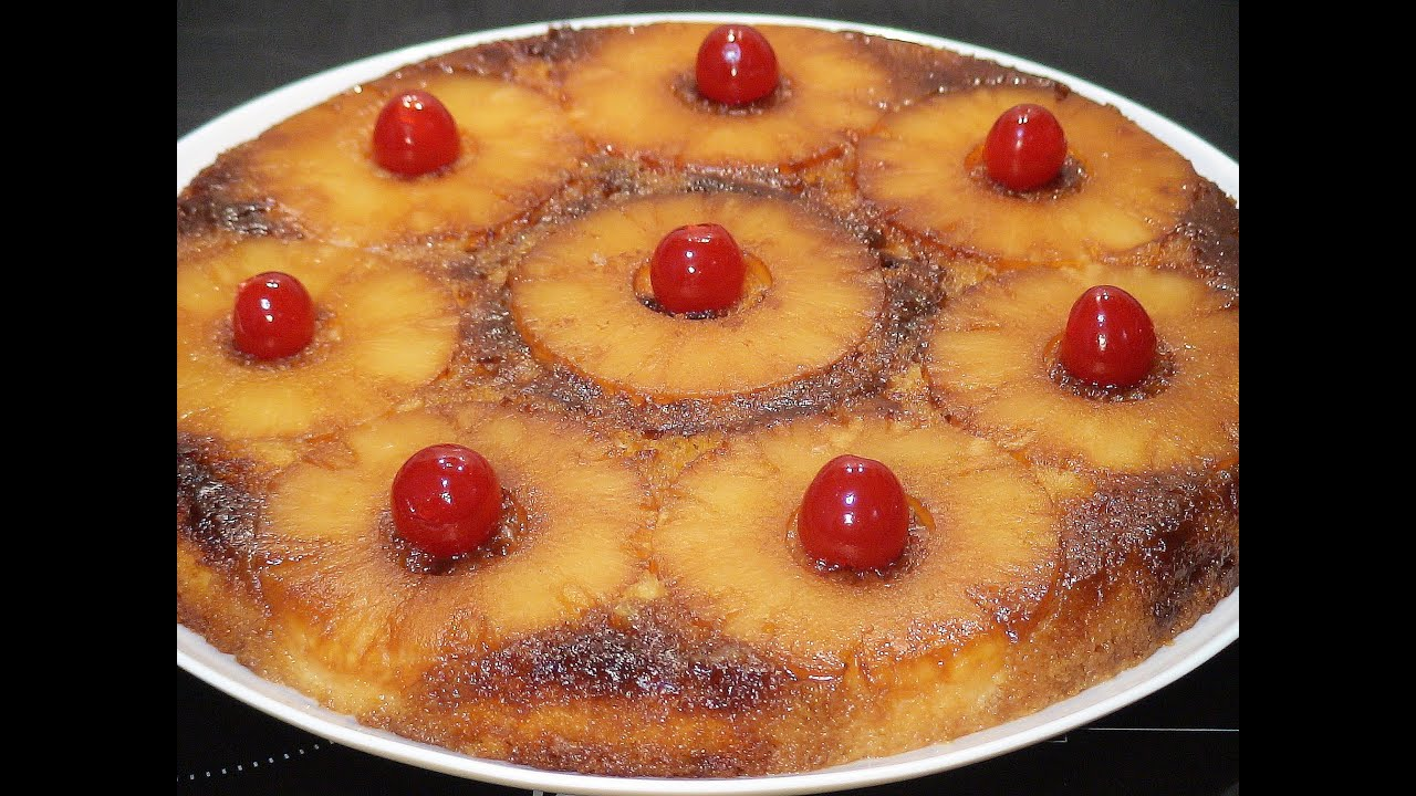 Receta Tarta de piña fácil - Recetas de cocina, paso a paso, tutorial. Loli Domínguez