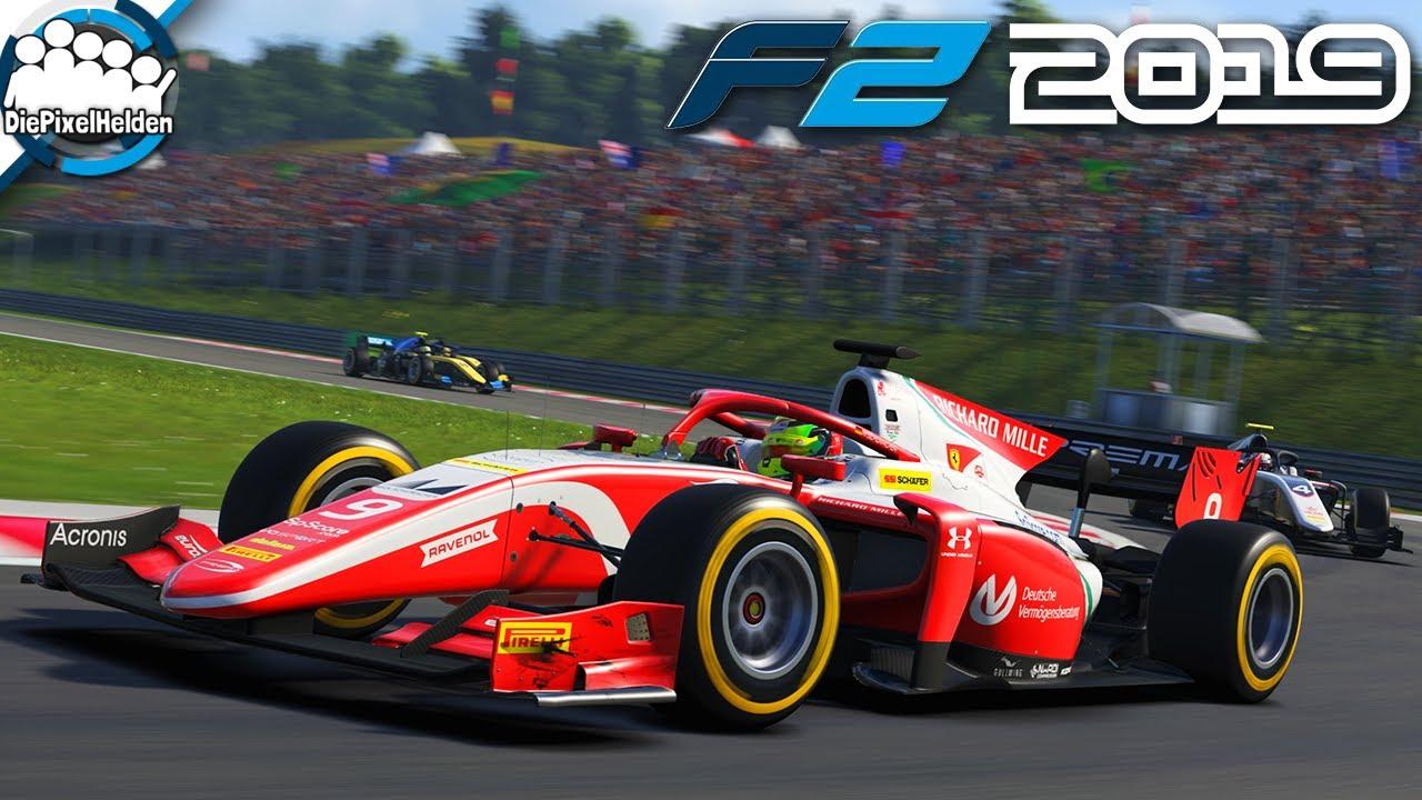 F2 2019 Mick Schumacher Karriere #15 - Spannung mal anders ...